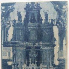 Cartoline: CULLERA IGLESIA PARROQUIAL ALTAR MAYOR. Lote 248141570