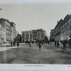 Cartes Postales: ALCOY PLAZA DE LA REPUBLICA FOTOGRAFICA ROISIN. Lote 250295015