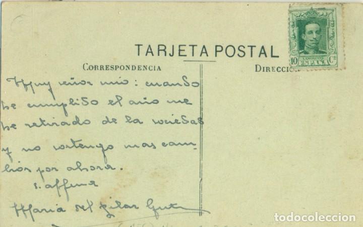 Postales: ALICANTE. TORREVIEJA. PESCADERIA Y ASTILLEROS. CIRCULADA HACIA 1920.MUY RARA. - Foto 2 - 253557230