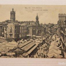 Postales: POSTAL VALENCIA, VISTA GENERAL DEL MERCADO, E.B.P.. Lote 253919925