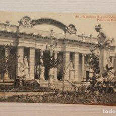 Postales: POSTAL VALENCIA, EXPOSICIÓN REGIONAL VALENCIANA, PALACIO DE BELLAS ARTES, THOMAS. Lote 253921255