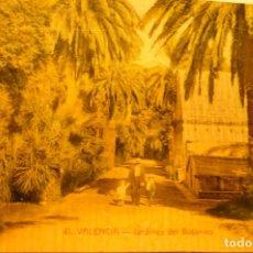 Postales: POSTAL VALENCIA JARDINE DEL BOTANICO CM. Lote 253978850