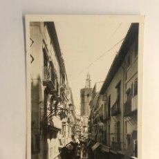Cartoline: VALENCIA. POSTAL FOTOGRAFÍCA NO.31, CALLE ZARAGOZA, FOTO L. ROISIN (H.1930?) S/C. Lote 254360460