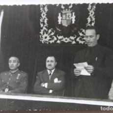 Postales: GABARDA VALENCIA 1961 INAGURACION CUARTEL GUARDIA CIVIL FOTOGRAFIA TAMAÑO POSTAL. Lote 254524335