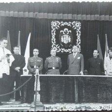 Postales: GABARDA VALENCIA 1961 INAGURACION CUARTEL GUARDIA CIVIL FOTOGRAFIA TAMAÑO POSTAL. Lote 254524395