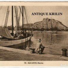Postales: ALICANTE Nº 72 PUERTO /FOTO L. ROISIN. Lote 254554540