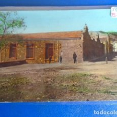 Postales: (PS-64983)POSTAL FOTOGRAFICA COLOREADA DE BORRIOL-GRUPO ESCOLAR Y ARRABAL DE BARCELONA. Lote 254582550