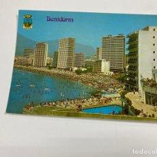 Cartes Postales: TARJETA POSTAL. BENIDORM. Nº44. PLAYA LEVANTE. HERMANOS GALIANA. Lote 254810550