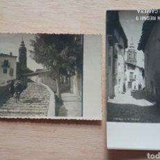 Postales: FORCALL POSTAL FOTOGRAFICA CALLE PETRA PALOS Y SAN ROQUE CASTELLÓN AÑOS '50. Lote 255490220
