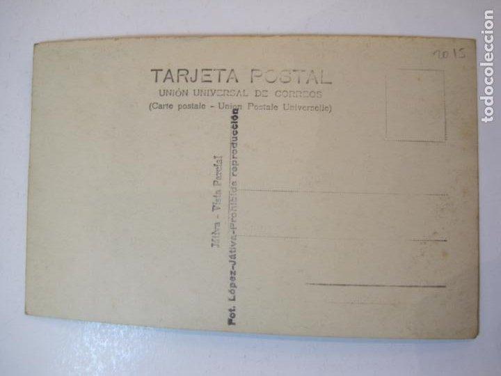 Postales: JATIVA-VISTA PARCIAL-FOTOGRAFICA LOPEZ-POSTAL ANTIGUA-(79.851) - Foto 4 - 257327430