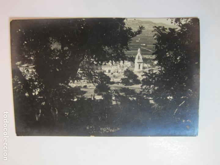 JATIVA-VISTA PARCIAL-FOTOGRAFICA LOPEZ-POSTAL ANTIGUA-(79.851) (Postales - España - Comunidad Valenciana Antigua (hasta 1939))