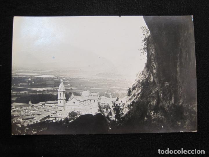JATIVA-VISTA PARCIAL-FOTOGRAFICA LOPEZ-POSTAL ANTIGUA-(79.853) (Postales - España - Comunidad Valenciana Antigua (hasta 1939))