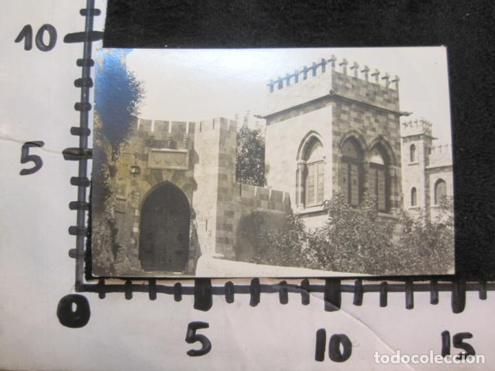 Postales: JATIVA-VISTA PARCIAL DEL CASTILLO-FOTOGRAFICA LOPEZ-POSTAL ANTIGUA-(79.855) - Foto 3 - 257327615