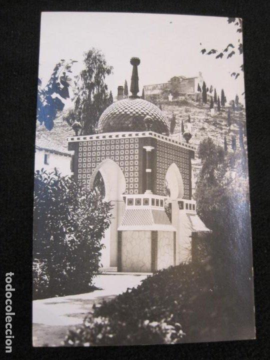JATIVA-PARQUE INFANTIL-FOTOGRAFICA LOPEZ-POSTAL ANTIGUA-(79.856) (Postales - España - Comunidad Valenciana Antigua (hasta 1939))