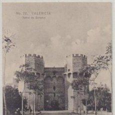 Postales: POSTAL ANTIGUA DE VALENCIA. TORRES DE SERRANOS Nº 22 P-VA-1701. Lote 257438540