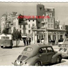Postales: ALCIRA Nº 30 PLAZA DEL CAUDILLO / EDICIONES ARRIBAS / SEAT 600 / RENAULT 4/4. Lote 257952735