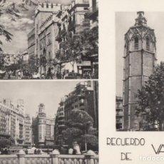 Postais: (1290) POSTAL VALENCIA - RECUERDO DE VALENCIA - JDP - S/CIRCULAR. Lote 260109760