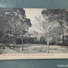 Postales: POSTAL - VALENCIA 12. COLEGIO DEL SAGRADO CORAZON DE GODELLA. PLAZOLETA DE LA VIRGEN.. Lote 261285945