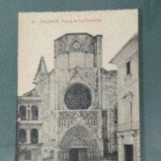 Postales: POSTAL - VALENCIA 87. PUERTA DE LOS APOSTOLES.. Lote 261286055