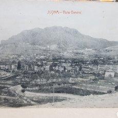 Postales: POSTAL ANTIGUA - JIJONA VISTA GENERAL. Lote 261638095