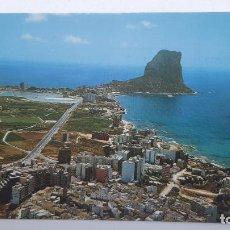 Postales: POSTAL CALPE (ALICANTE), VISTA AÉREA, HERMANOS GALIANA Nº 55. Lote 261661750