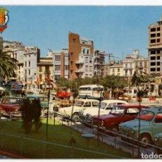 Postales: EM0805 ALCIRA PLAZA DEL CAUDILLO 1967 DURA Nº95 SEAT 600 850 1500 CAMION BUS GORDINI. Lote 261663340