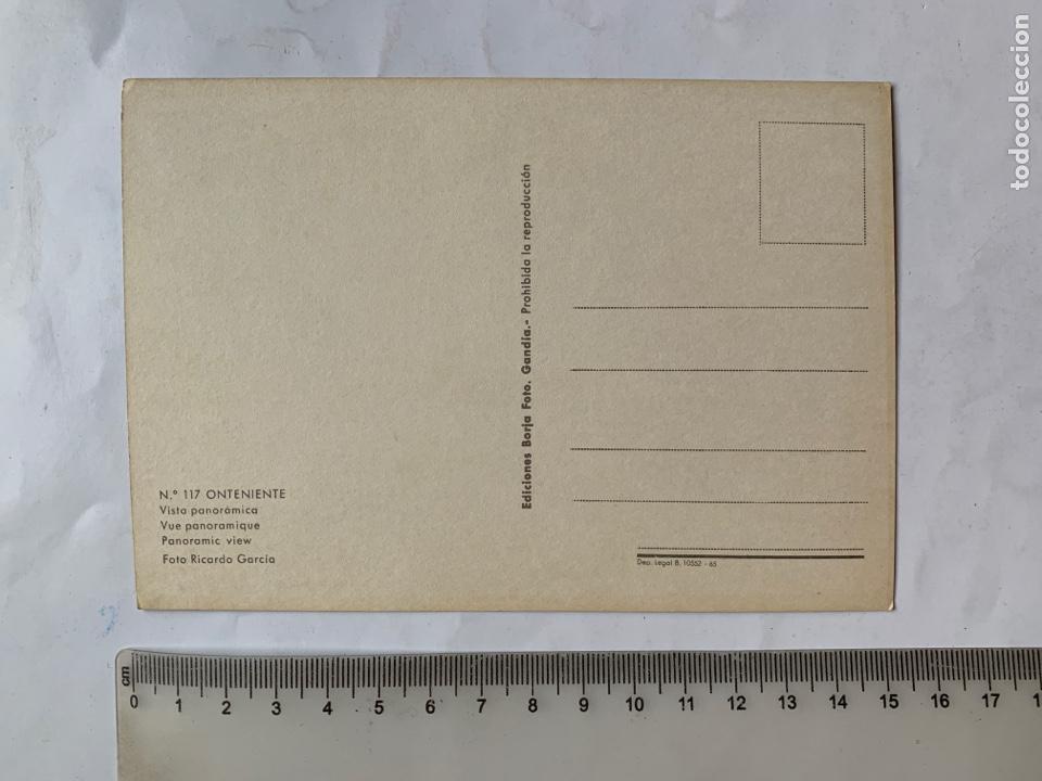 Postales: POSTAL. ONTENIENTE. VALENCIA. VISTA PANORÁMICA. EDICIONES BORJA. - Foto 2 - 261979670