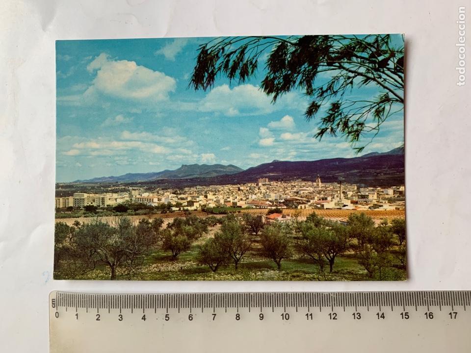 POSTAL. ONTENIENTE. VALENCIA. VISTA PANORÁMICA. EDICIONES BORJA. (Postales - España - Comunidad Valenciana Moderna (desde 1940))