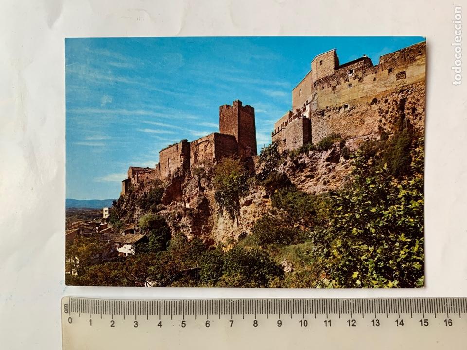 POSTAL. BUÑOL. VALENCIA. ASPECTOS DEL CASTILLO. (Postales - España - Comunidad Valenciana Moderna (desde 1940))
