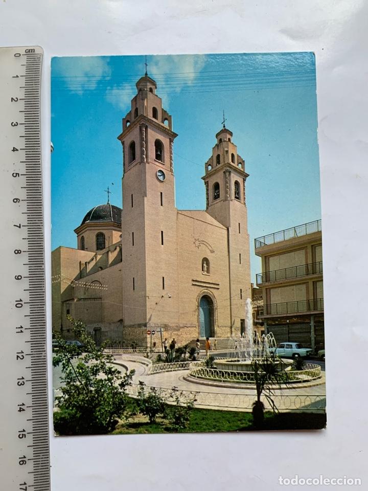 POSTAL. ELDA. ALICANTE. IGLESIA PARROQUIAL DE SANTA ANA. RAKER. (Postales - España - Comunidad Valenciana Moderna (desde 1940))