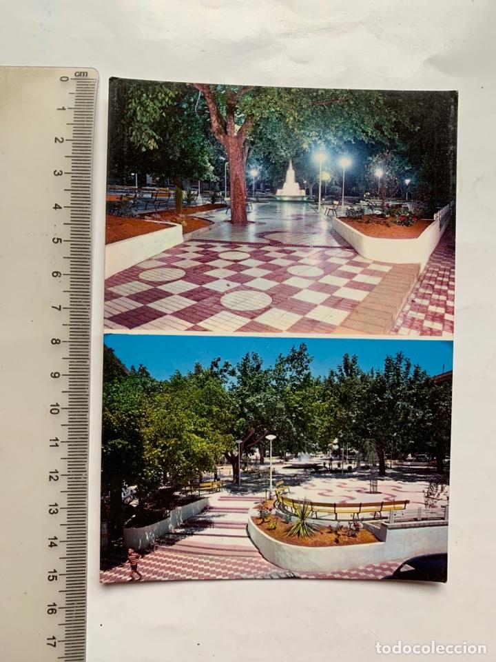 POSTAL. ONTENIENTE. VALENCIA. PLAZA JOSÉ ANTONIO. FOTO RICARDO GARCIA. (Postales - España - Comunidad Valenciana Moderna (desde 1940))