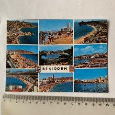 Postales: POSTAL. BENIDORM. ALICANTE. ASPECTOS VARIOS. RUECK.. Lote 261986625