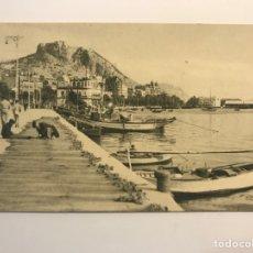 Postales: ALICANTE. POSTAL PUERTO PESQUERO. EDIC. F. MESAS, ARTE BILBAO (H.1950?) S/C. Lote 262104160