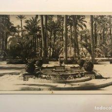 Postales: ELCHE (ALICANTE) POSTAL FOTOGRAFÍCA EL PALMERAL... FOTO MONFERVAL (H.1950?). Lote 262111800