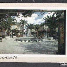 Postales: 27 BENICARLO. AVDA. JUAN CARLOS I Y FUENTE. Lote 262276320