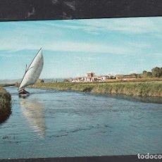 Postales: 19.- VALENCIA. EL SALER. CANAL DE LA ALBUFEA. Lote 262281640