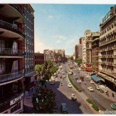 Cartoline: EM0823 VALENCIA CALLE DE JATIVA 1963 ESCUDO DE ORO Nº947 HOTEL METROPOL COCHES. Lote 262344470