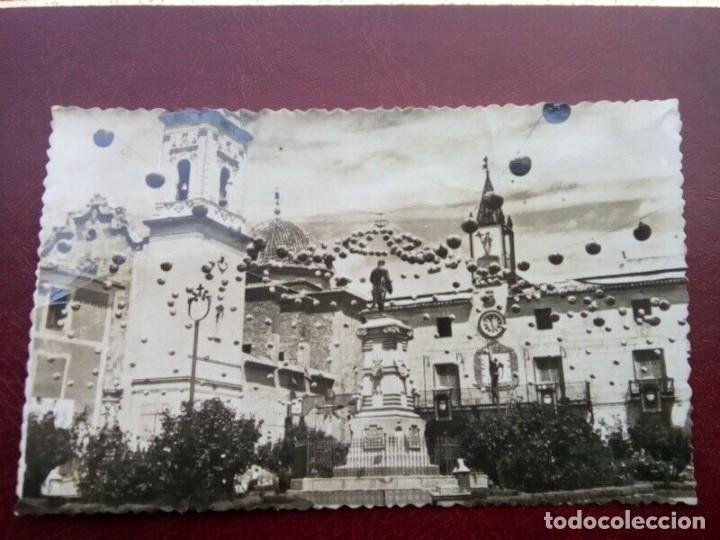 NOVELDA POSTAL ANTIGUA ,BLANCO Y NEGRO , DIFICIL (Postales - España - Comunidad Valenciana Antigua (hasta 1939))