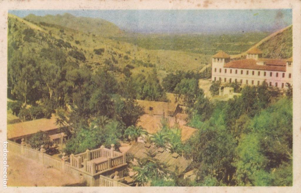 ALICANTE FONTILLES SANATORIO PARA LEPROSOS. ED. LITOGRAFIA ORTEGA VALENCIA. SIN CIRCULAR (Postales - España - Comunidad Valenciana Antigua (hasta 1939))