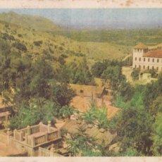 Postales: ALICANTE FONTILLES SANATORIO PARA LEPROSOS. ED. LITOGRAFIA ORTEGA VALENCIA. SIN CIRCULAR. Lote 262756755