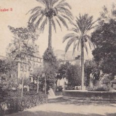 Postales: ALICANTE PLAZA ISABEL II. ED. FOTOTIPIA THOMAS Nº 3. SIN CIRCULAR. Lote 263073465