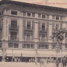 Postales: VALENCIA FACHADA GRAN HOTEL ESPAÑA. ED. CASTEÑEIRA ALVAREZ Y LEVENFELD. CON SELLO DEL HOTEL. Lote 263076140