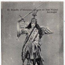 Postales: FESTEJO ASOCIACIÓN MIGUEL ARCÁNGEL RUZAFA VALENCIA 10 SAN MIGUEL 1921 COCINAS J SALA GRAFOS GREGOYRE. Lote 265212774