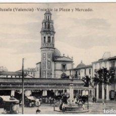 Postales: FESTEJO ASOCIACIÓN MIGUEL ARCÁNGEL RUZAFA VALENCIA 2 PLAZA MERCADO 1921 COCINAS SALA GREGOYRE GRAFOS. Lote 265213549
