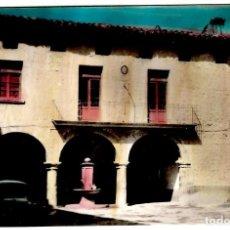 Postales: PUEBLA DE ARENOSO (CASTELLÓN) CASA DE LA VILLA - ED. COMAS ALDEA - 151X101MM - INÉDITA EN TODOCOLECC. Lote 265883798