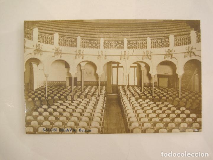 VALENCIA-SALON ESLAVA-BUTACAS-FOTOGRAFICA S.B.S.-POSTAL ANTIGUA-VER FOTOS-(81.230) (Postales - España - Comunidad Valenciana Antigua (hasta 1939))