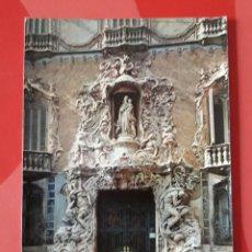 Postales: POSTAL N° 814. VALENCIA. FACHADA DEL PALACIO DEL MARQUÉS DE DOS AGUAS. A. SUBIRATS.. Lote 266852869