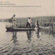 Postais: COSTUMBRES VALENCIANAS ALBUFERA DE VALENCIA. ED. HAUSER Y MENET Nº 1843. REVERSO SIN DIVIDIR. Lote 266945324