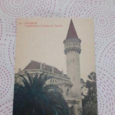 Postales: POSTAL ANTIGUA BLANCO Y NEGRO VALENCIA. Lote 267284209