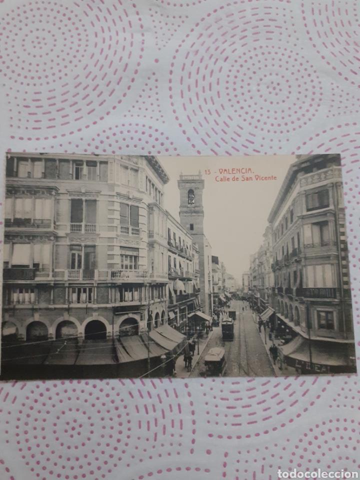 POSTAL ANTIGUA BLANCO Y NEGRO VALENCIA (Postales - España - Comunidad Valenciana Moderna (desde 1940))